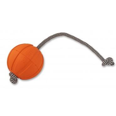 Jouet Balle rebondissante en polymère avec corde
